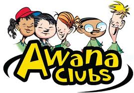 Awana Clubs logo with children surrounding
